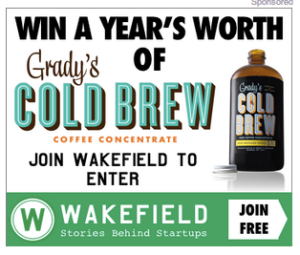 Grady's Cold Brew Sponsored Ad