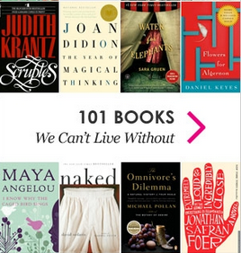 DailyCandy's Promoted Content - 100 Books