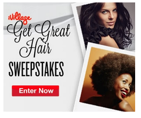 iVillage Sponsored Ad Get Great Hair