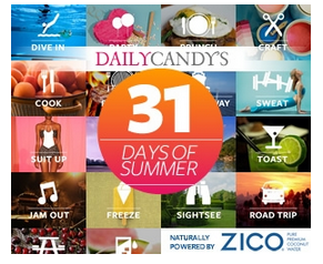 DailyCandy 31 Days of Summer Promotion