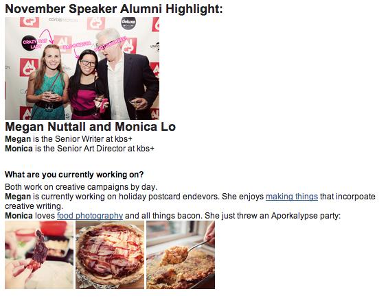 Speaker Alumni Newsletter