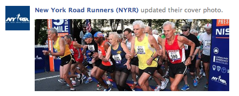 New York Road Runners Facebook Cover Photo