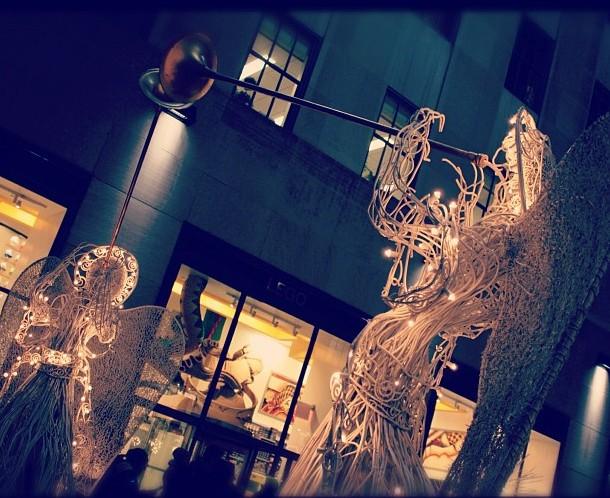Angels NYC Christmas #ChristmasInNY