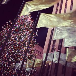 Rockfeller Christmass Tree #ChristmasinNY