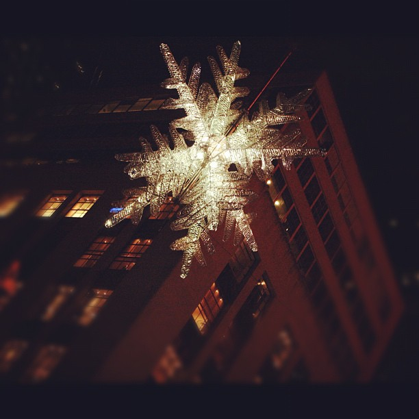 Unicef Snowflake NYC Christmas #ChristmasInNY