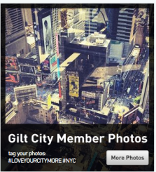 Gilt City Holiday Instagram Campaign