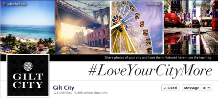 Gilt City #LoveYourCityMore Social Media Campaign