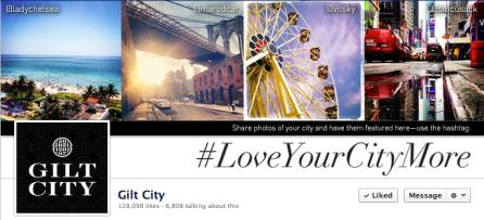 Gilt City #LoveYourCityMore Social Media Campaign