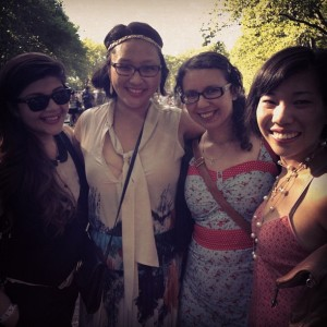 Jazz-Age Lawn Party with Friends