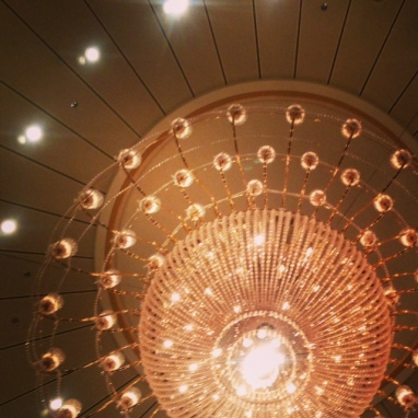 Social Hashtag Series #AboveMe Instagram Photos: Royal Caribbean Liberty of the Sea Dinning Room