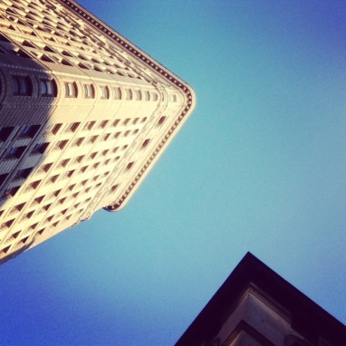 Social Hashtag Series #AboveMe Instagram Photos: NYC Flatiron Building