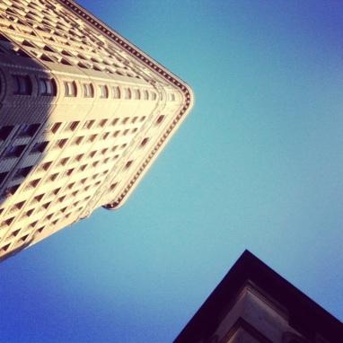 Social Hashtag Series #AboveMe Instagram Photos: NYC Flatiron Building