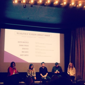 Social Media Week New York 2013 The Evolution of the Modern Community Manager