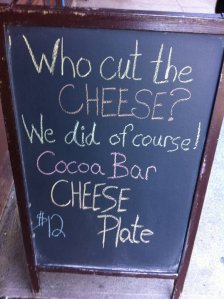 Store Front Signs of NY_Cheese