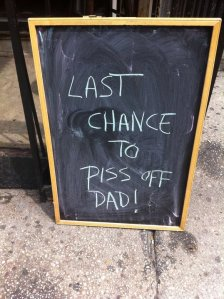 Store Front Signs of NY_ Father's Day