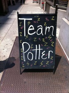 Store Front Signs of NY_ Harry Potter
