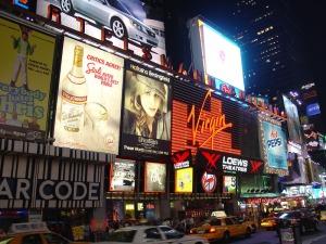 Virgin MegaStore NYC Times Store