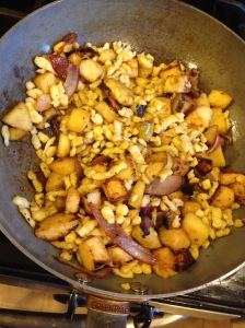 Brown Butter Spaetzle